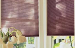custom installed pleated blinds perth