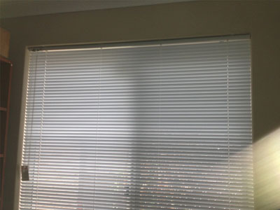 residential and commercial timber venetian blind installation